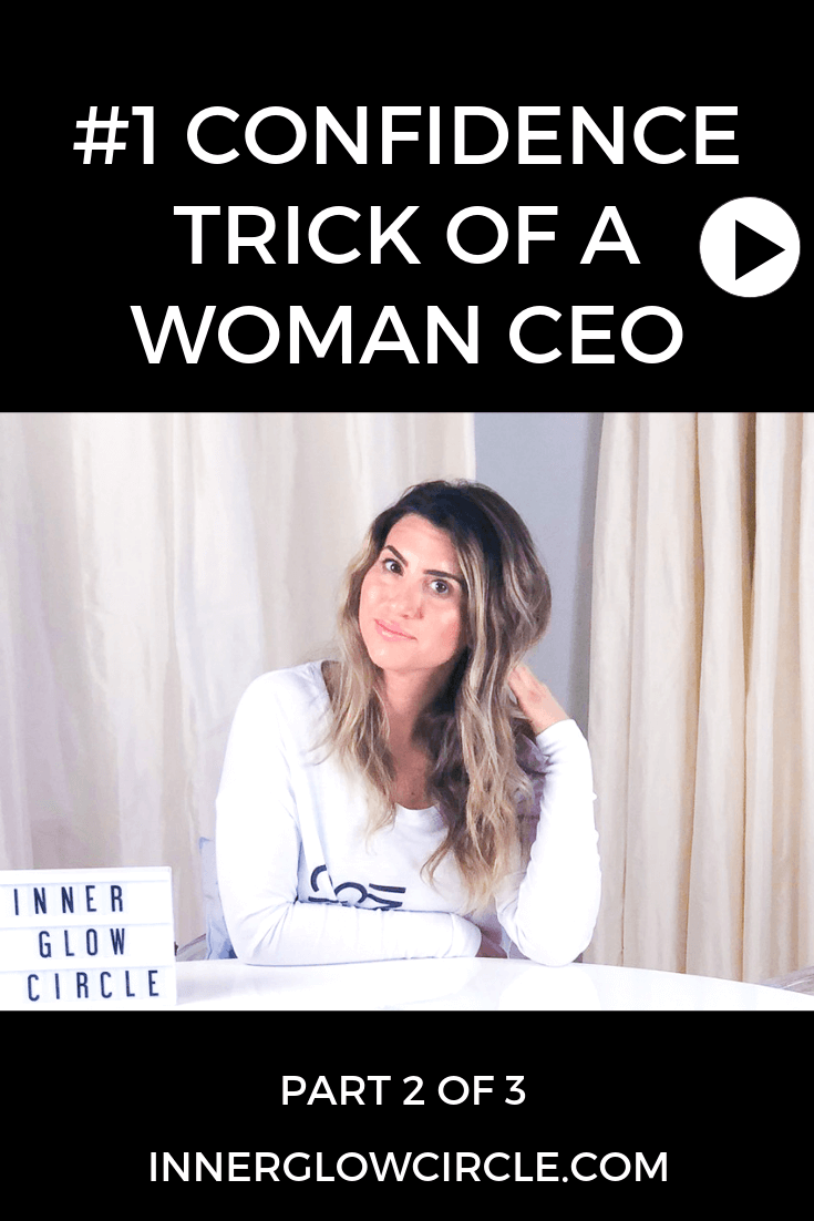 Confidence Trick of a Woman CEO, Part 2